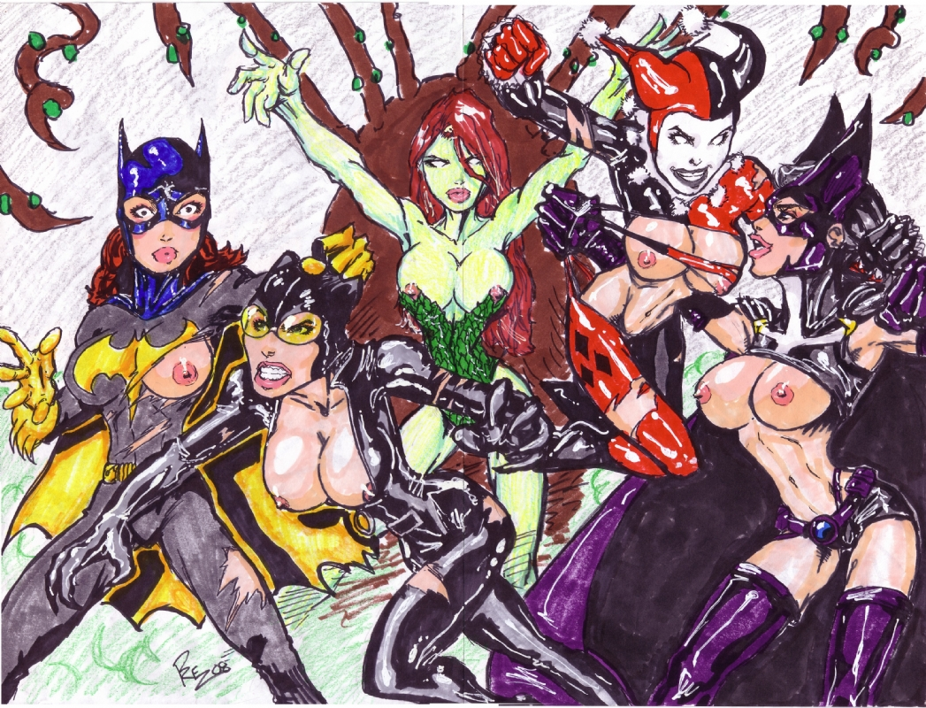 and harley quinn catwoman xxx Scp 035 and scp 049