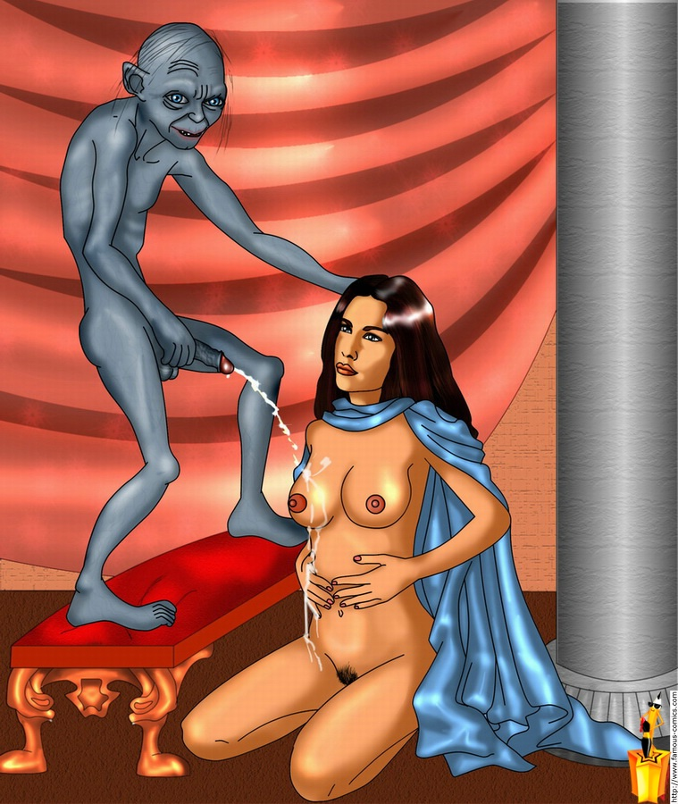 of rings lord the Ranma 1/2 naked