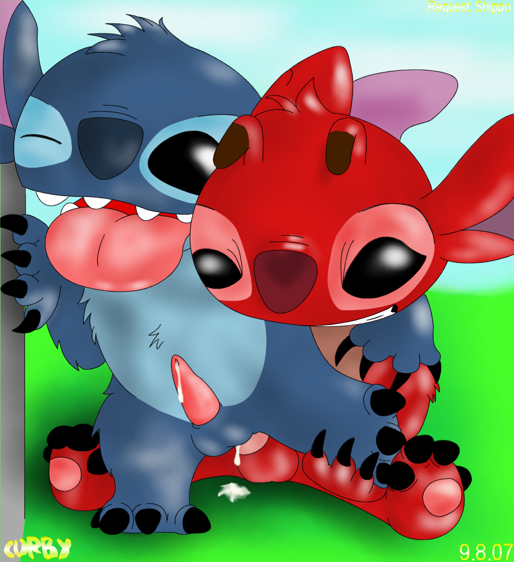stitch lilo and leroy from Is there nudity in doki doki literature club