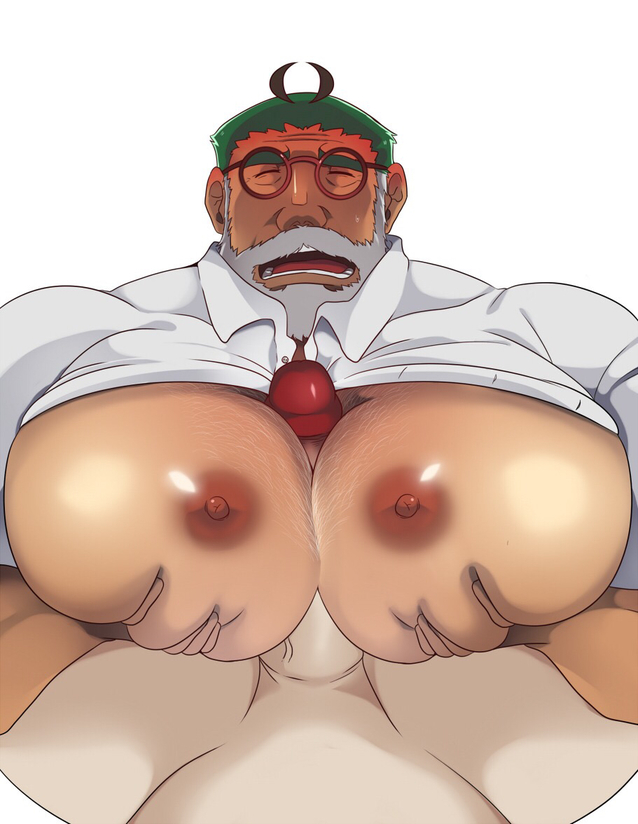 do men nipple have holes Father and son