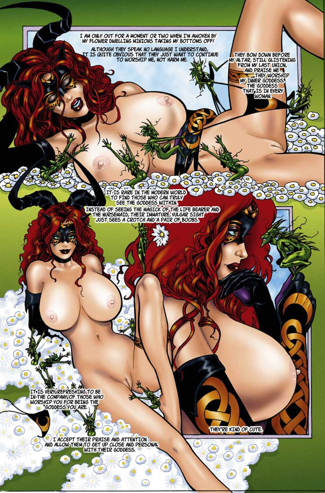 rose of black the tarot Hitomi is shy with strangers