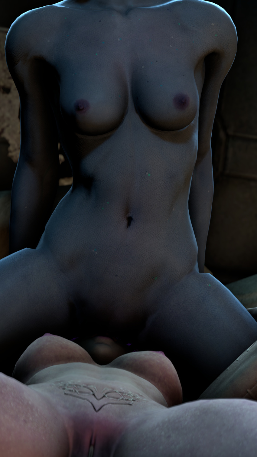 effect nude mass andromeda ryder Android 18 and krillin hentai