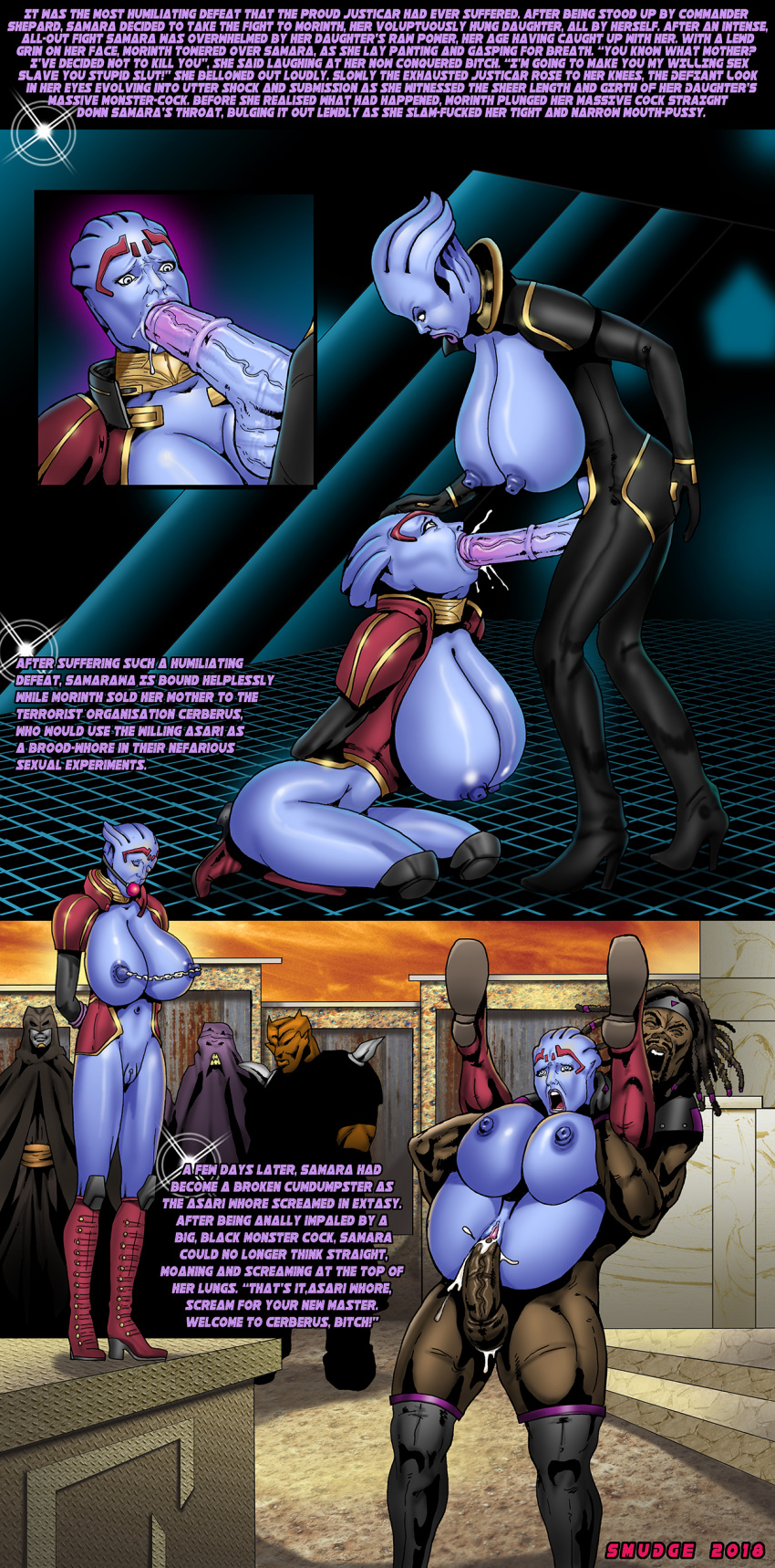 1 effect shepard female mass asian Trials in tainted space akane