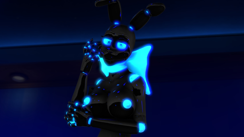 freddy's bonnie nights at five shadow Five nights in anime foxy