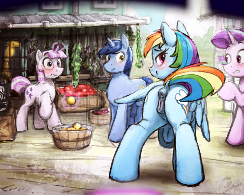 rainbow fanfiction dash mlp spike and The puppet master five nights at freddy's