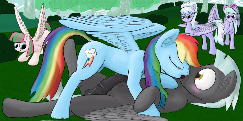 twilight and dash kissing rainbow Breath of the wild notts