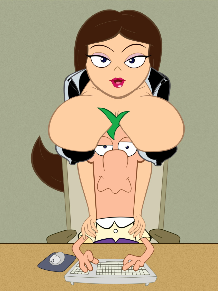 and phineas ferb nude vanessa Trials in tainted space naleen
